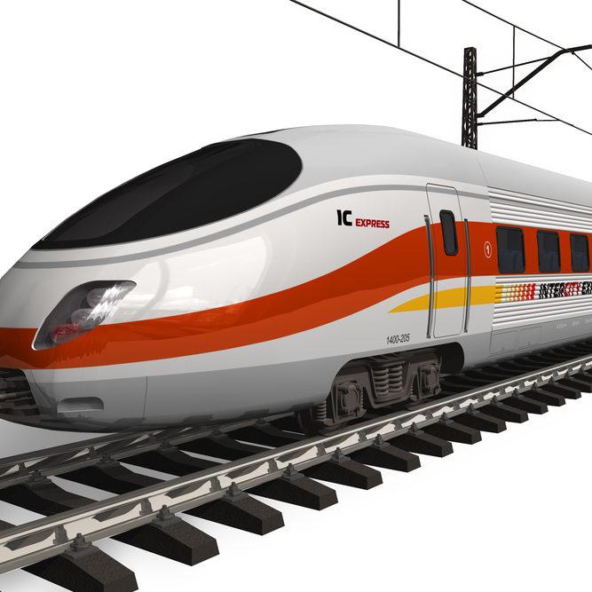 Bahn nach Berlin